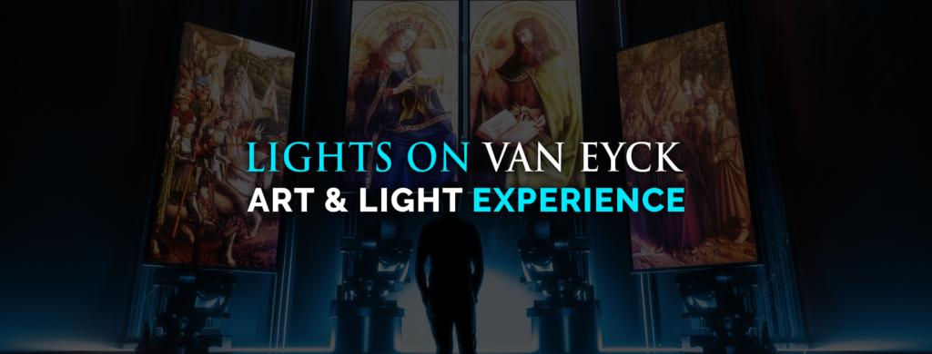 Banner Lights on Van Eyck